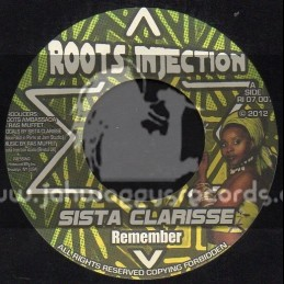 "Roots Injection-7""-Remember / Sista Clarisse"