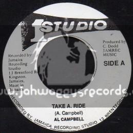 """Studio 1-7""""-Take A Ride / AL Campbell"""