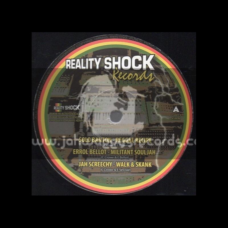 "Reality Shock Records-12""-Reggae Recipe / Solo Banton"