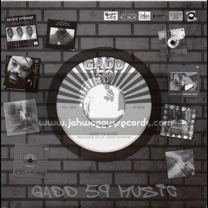 "GADD 59-7""-African Decendant/Ras Murry & Johnny Clarke+Rocking & Swinging / Big Joe & Leroy Smart"