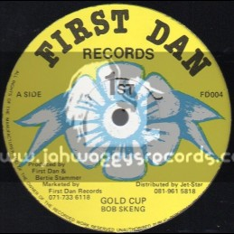"First Dan Records-12""-Gold Cup / Bob Skeng"