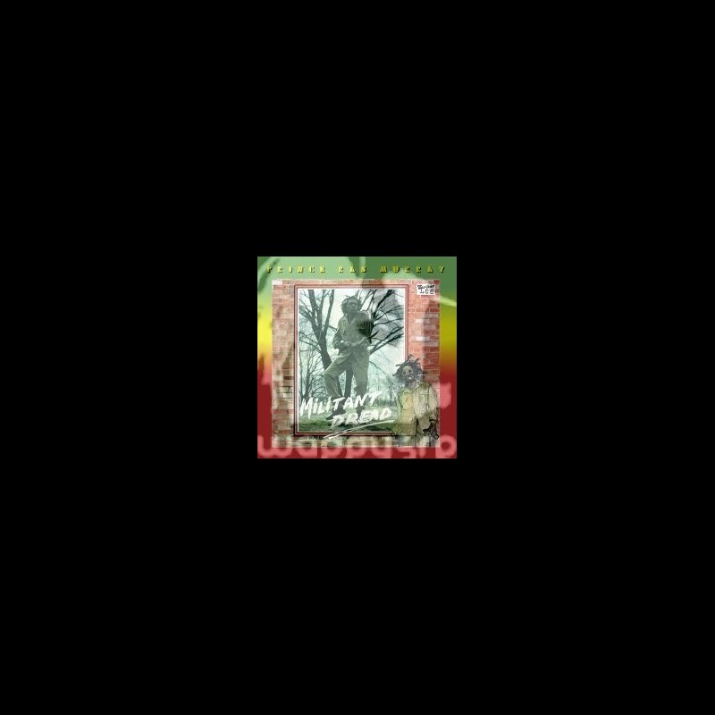 Gad 59-LP-Militant Dread/Prince Ras Murray(Limited 300 Press)