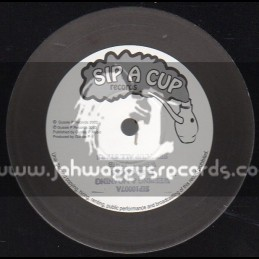 """Sip A Cup Records-10""""-Weeping & Moaning + Mission For The King / Fred Locks"""