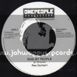 "One People Production-7""-Rise My People / Ras Zacharri"