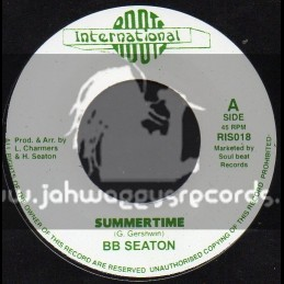 """Roots International-7""""-Summer Time + Been Such A Long Time / B B Seaton"""