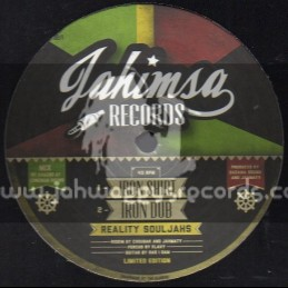 """Jahimsa Records-12""""-Iron Shirt / Reality Souljahs + Youths Of Today / Patty Feat.Humble D"""