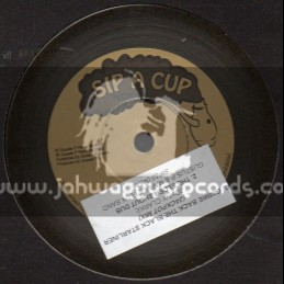 "Sip A Cup Records-10""-Gimmie Back The Black Starliner / Johnny Clarke"