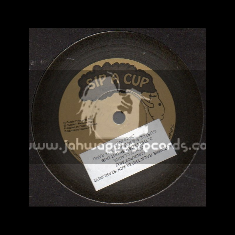 """Sip A Cup Records-10""""-Gimmie Back The Black Starliner / Johnny Clarke"""