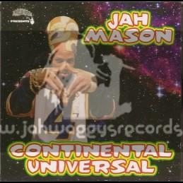 Sip A Cup Records-LP-Continental Universe / Jah Mason