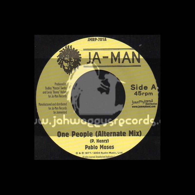 """JA-Man-7""""-One People / Pablo Moses"""