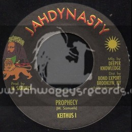 """Jahdynasty-7""""-Prophecy / Keithus I"""