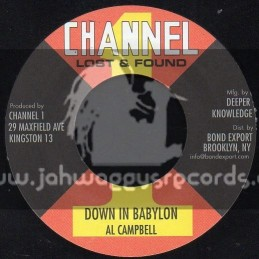 "Channel 1-7""-Down In Bablylon / Al Campbell"