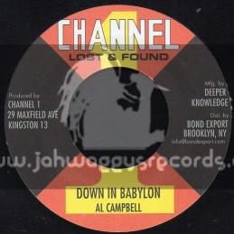 """Channel 1-7""""-Down In Bablylon / Al Campbell"""