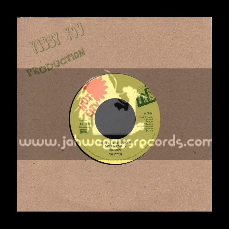 """Hot City-7""""-Deliver Me From My Enemies/Yabby You (Dubplate Mix)"""