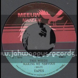 """Meeuw Muzak-7""""-This Weed Makes Me Nervous / Tapes"""