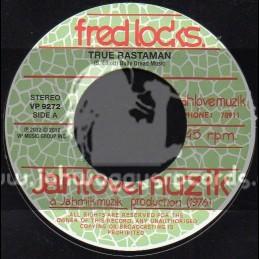 """Jah Love Muzik-7""""-True Rastaman / Fred Locks"""