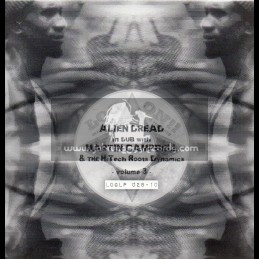 """Log On-10""""Lp-Alien Dread In Dub With Martin Campbell & The Hi Tech Roots Dynamics-VOL-3"""