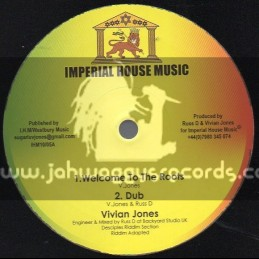 "imperial House Music-10""-Welcome To The Roots + Rock On / Vivian Jones"
