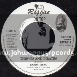 """Reggae On Top-7""""-Thieves And Pirates / Barry Issac"""