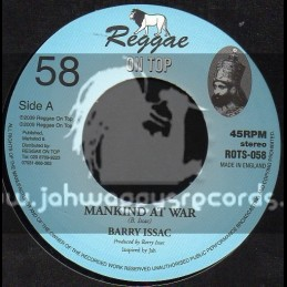 """Reggae On Top-7""""-Mankind At War / Barry Isaac"""