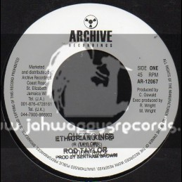 "Archive Recordings-7""-Ethiopian Kings / Rod Taylor"