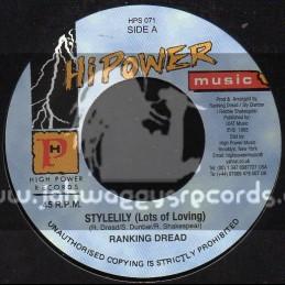 "Hi Power Music-7""-Stylelily (Lots Of Loving) / Ranking Dread"