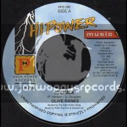 "Hi Power Music-7""-85 Skack / Olive Ranks"