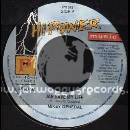 "Hi Power Music-7""-Jah Save My Life / Mikey General"