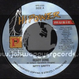 "Hi Power Music-7""-Ready Done / Nitty Gritty"