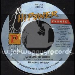 "Hi Power Music-7""-Love And Daevotion / Ranking Dread"