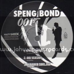 """Speng Bond 007-12""""-Speng Bond 001+Rubadub Souljah+To Mi God + Cut Backs"""