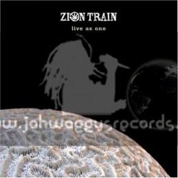 Universal Egg Double LP-Live As One Zion Ttrain
