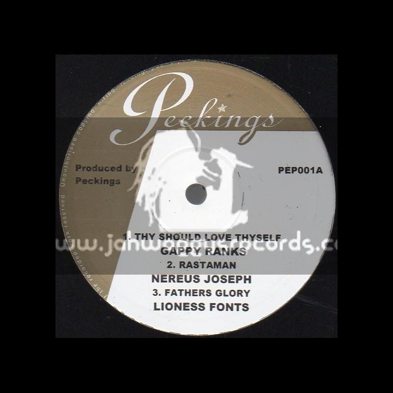 "Peckings-10""-Thy Should Love Thyself / Gappy Ranks"