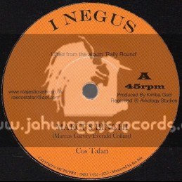 """I Negus Records-7""""-Marcus Binghi / Cos Tafari"""
