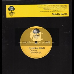 """Roots Tribe Records-10""""-Suffering / Cyrenius Black"""