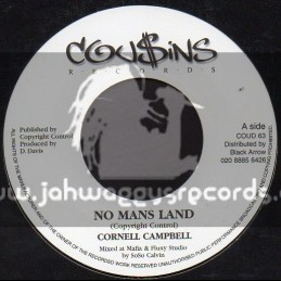 """Cousins Records-7""""-No Mans Land / Cornell Campbell"""
