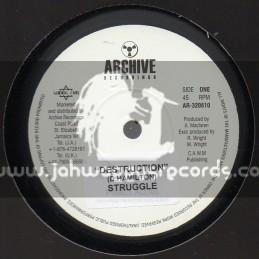 """Archive Recordings-10""""-Destruction / D Hamilton"""