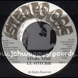 """Stereo One-7""""-Story Time / LT.Stitchie"""