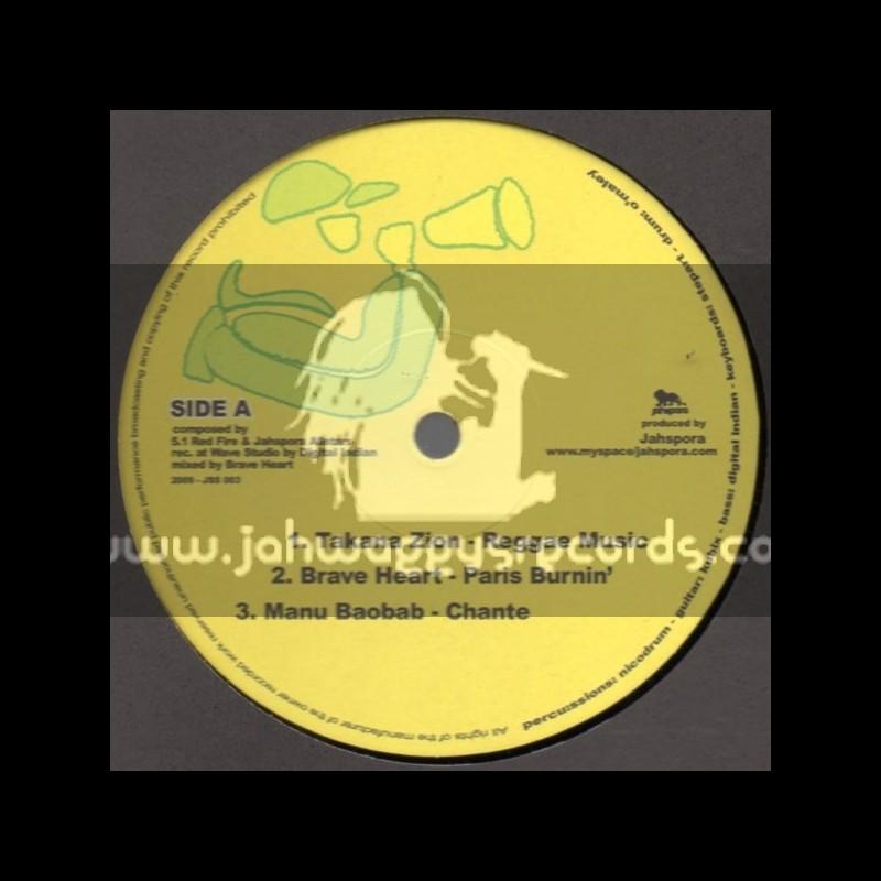 """Jahspora-12""""-Reggae Music / Takana Zion"""