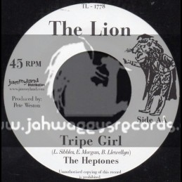 "The Lion-7""-Tripe Girl / The Heptones"