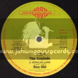 "Roots International-12""-Africa/The Gaylads+African Love/Ras Obi+Wadada/Jahdil & The Roots Harmonics"