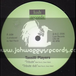 "Lush Records-10""-Tribute / Tassilli Players + In This Time / Abassi All Stars"
