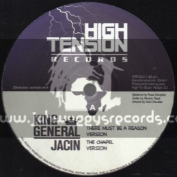 "High Tension Records-12""There Must Be A Reason / King General + Humble Lion / Adam Raad"