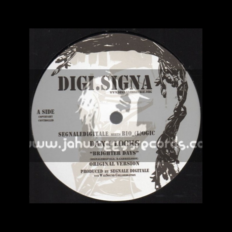 "Digi.Signa-12""-Brighter Days / Dan I Locks (Manasseh Dubwise)"