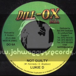 "Dill-Ox Inta-7""-Not Guilty / Lukie D"