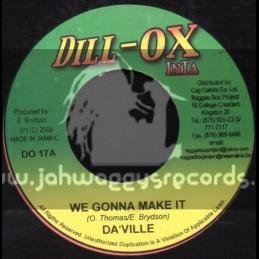 """Dill-Ox Inta-7""""-We Gonna Make It / Da Ville"""