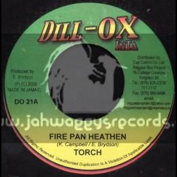 """Dill-Ox Inta-7""""-Fire Pan Heathen / Torch"""