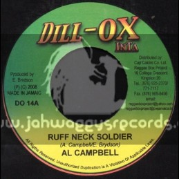 "Dill-Ox Inta-7""-Ruff Neck Soldier / Al Campbell"