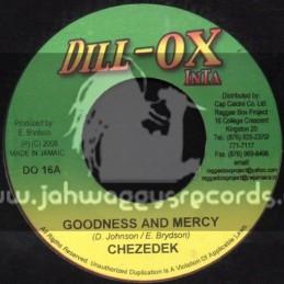 """Dill-Ox Inta-7""""-Goodness & Mercy / Chezedek"""