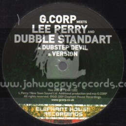"Elephant House Recordings-12""-Dubstep Devil / G.Corp Meets Lee Perry & Dubble Standart"
